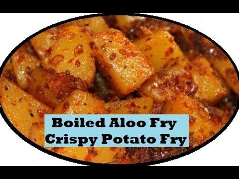 Boiled Aloo Fry/Crispy Potato Fry