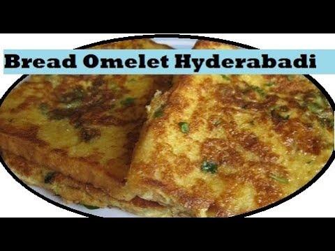 Bread Omelet Hyderabadi style