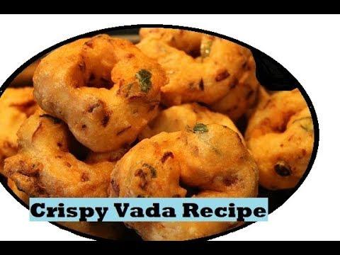 Crispy Vada Recipe South Indian Special