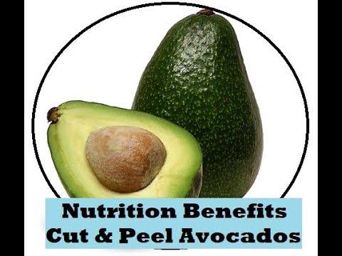 Cut & Peel Avocados