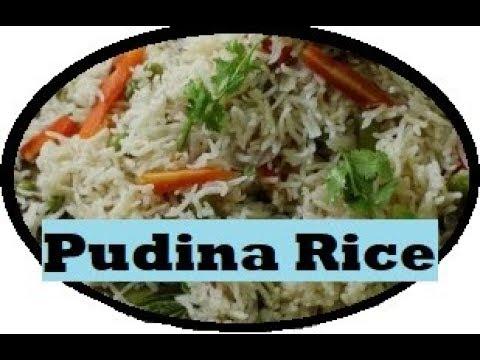 Easy and Tasty Pudina Rice