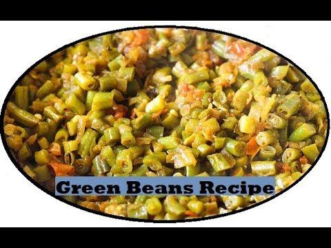 Green beans masala curry